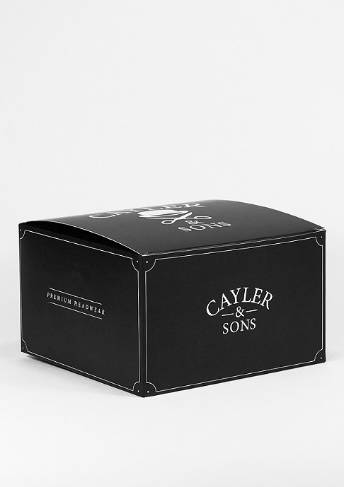 Cayler & Sons C&S Cap GLD Cee Flagged black/white