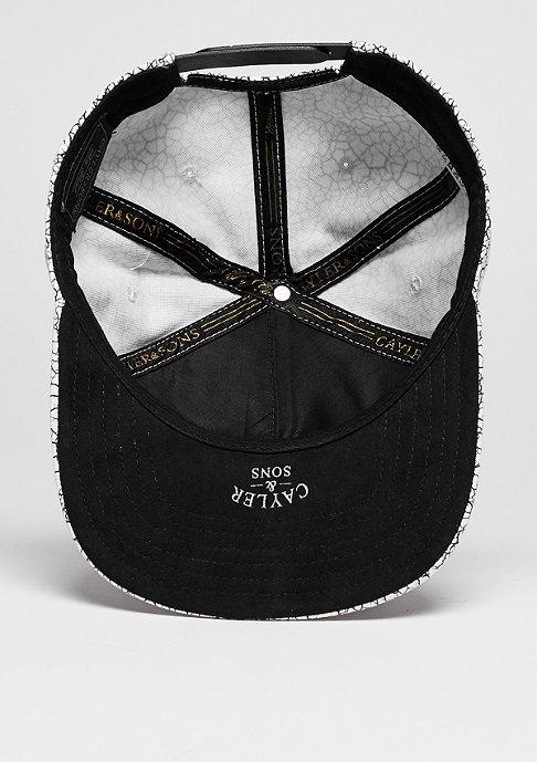 Cayler & Sons C&S CAP GLD Cracked white/black