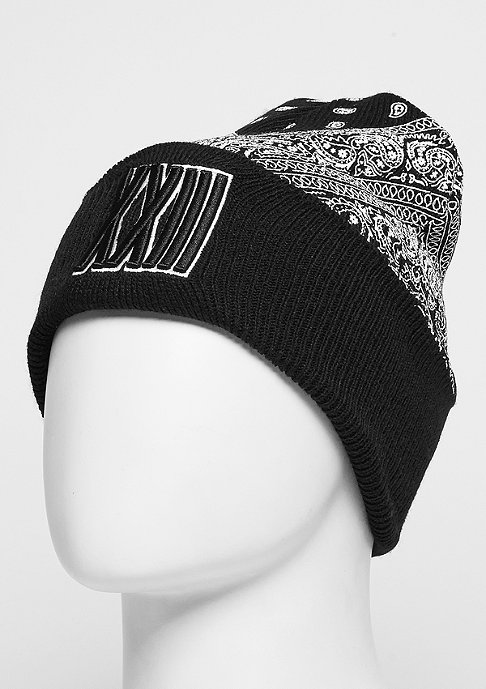 Cayler & Sons C&S BL Beanie Bumrush Old School black/white