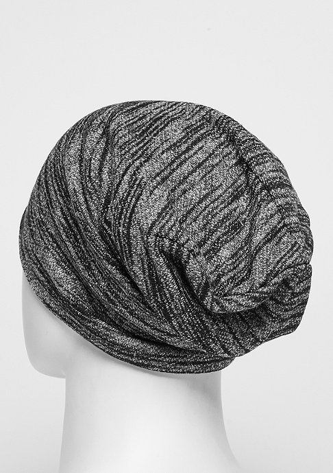Cayler & Sons Beanie BL Patched Slouch black/grey knit