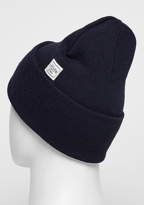 Cayler & Sons C&S WL Beanie Grime Old School navy/white