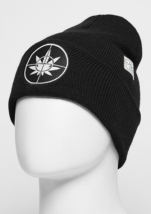 Cayler & Sons C&S GL Beanie Defend Your Crops Old School black/white