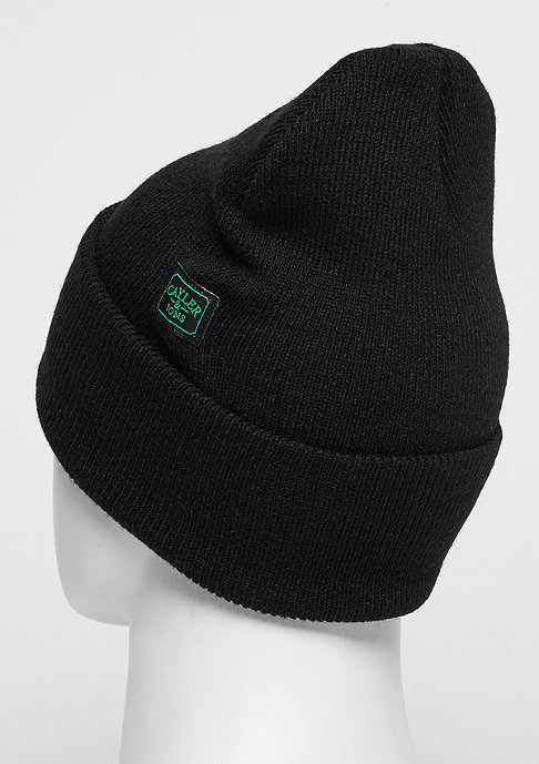 Cayler & Sons C&S GL Beanie B&M Old School black/white