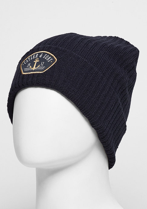 Cayler & Sons C&S CL Beanie Ahoi Essential navy/gold/white