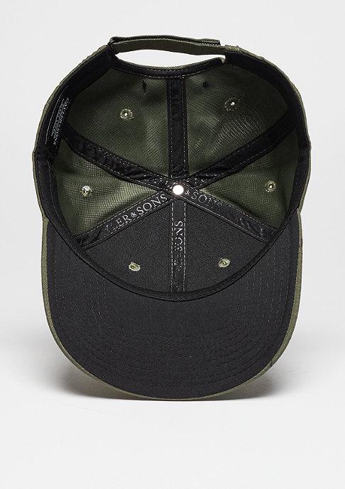 Cayler & Sons C&S BL Cap Curved Black Arch olive/black