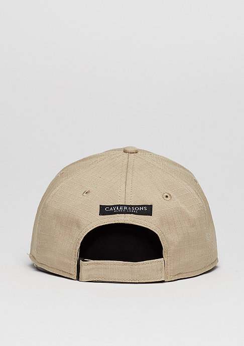 Cayler & Sons C&S BL Cap Curved Black Arch sand/woodland