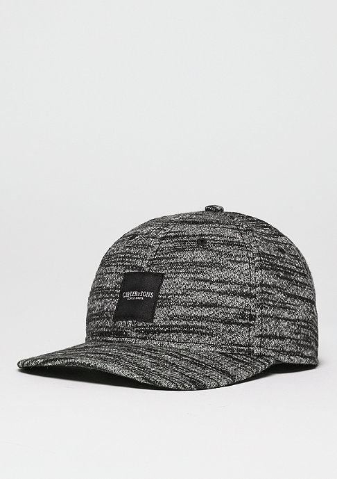 Cayler & Sons C&S BL Cap Curved Legend black/grey knit