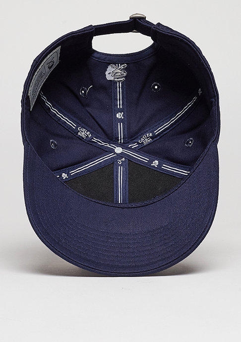 Cayler & Sons Baseball-Cap WL Curved Zero navy/white