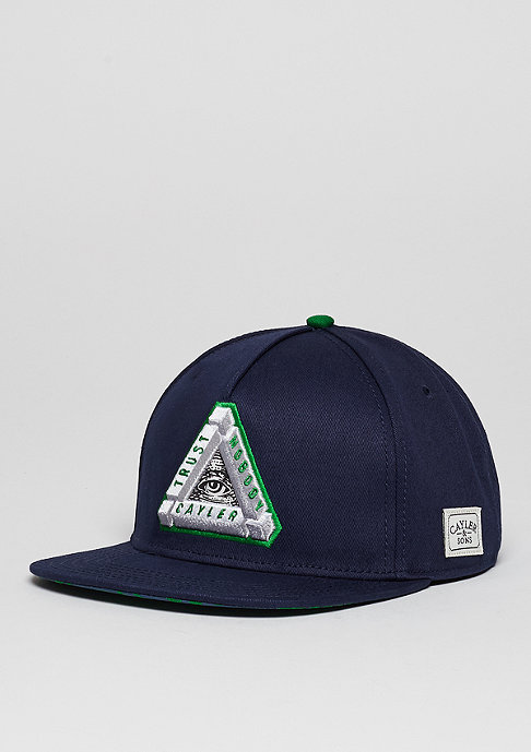 Cayler & Sons C&S Cap WL Triangle Of Trust navy/green/white
