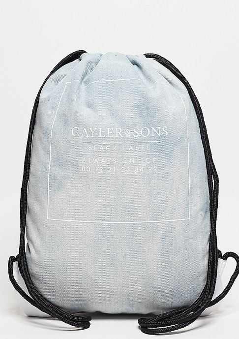 Cayler & Sons C&S BL Gymbag Moto light blue denim/white