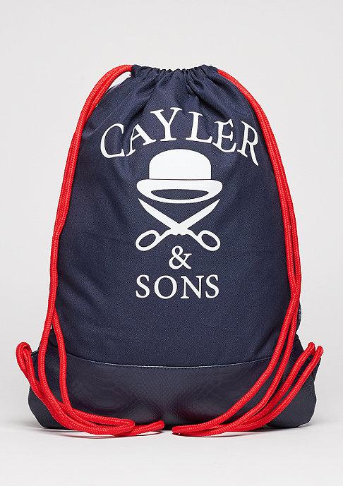 Cayler & Sons Trunebteutel WL Gymbag Crooklyn Skyline navy/red/mc