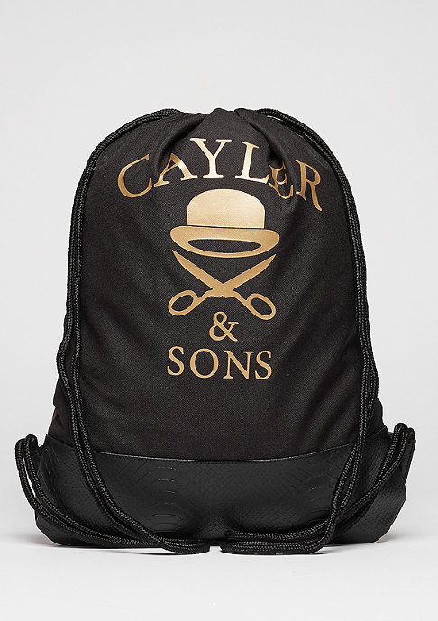 Cayler & Sons C&S WL Gymbag Money Power Respect black/gold/white