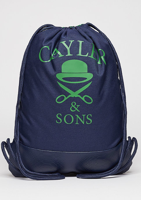 Cayler & Sons C&S WL Gymbag Triangle of Trust navy/green/white