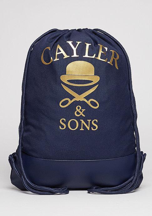Cayler & Sons Trunebeutel WL Gymbag Bonjour navy/gold