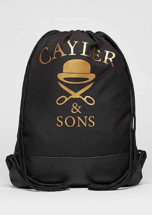 Cayler & Sons C&S WL Gymbag Amen black/gold