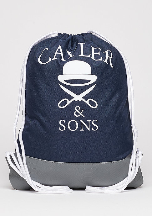 Cayler & Sons Turnbeutel WL Gymbag BK Salute navy/grey/mc