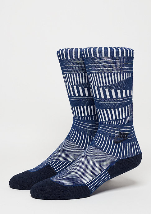 NIKE Sportsocke Men's Air Crew Sock coastal blue/white (obsidian)
