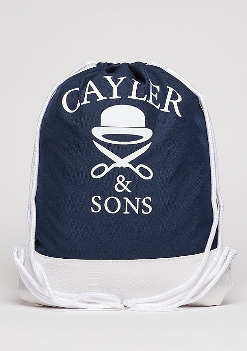 Cayler & Sons C&S WL Gymbag Grime navy/grey/white