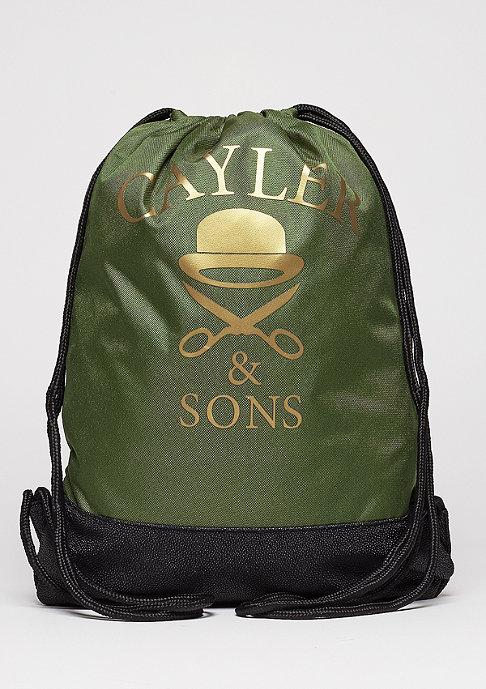Cayler & Sons Turnbeutel WL Gymbag probeme olive/black/gold