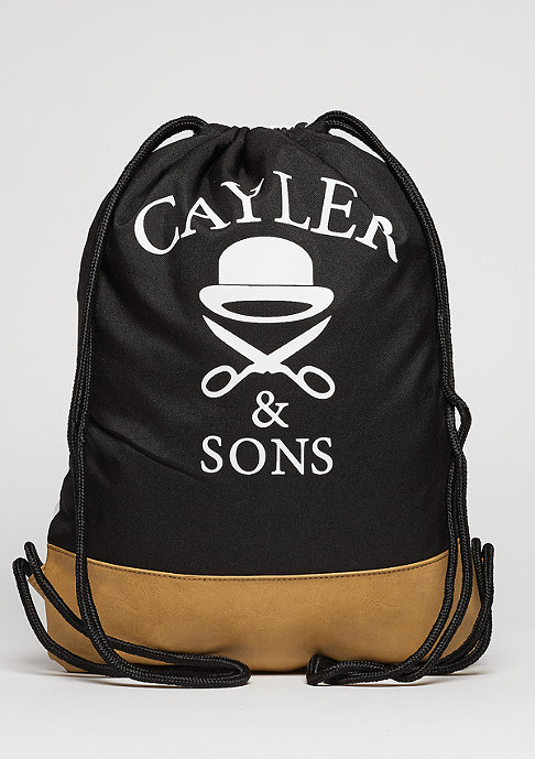 Cayler & Sons C&S GL Gymbag Bedstuy black/mc/brown