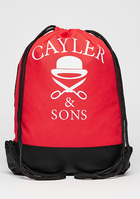 Cayler & Sons C&S GL Gymbag Amsterdam red/mc