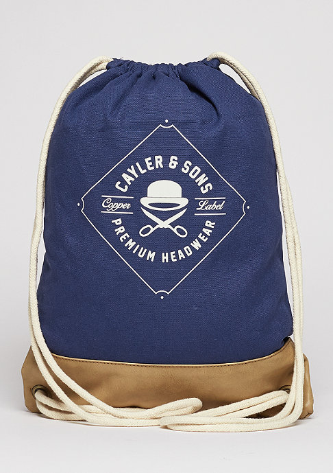 Cayler & Sons C&S CL Gymbag Ahoi navy/gold