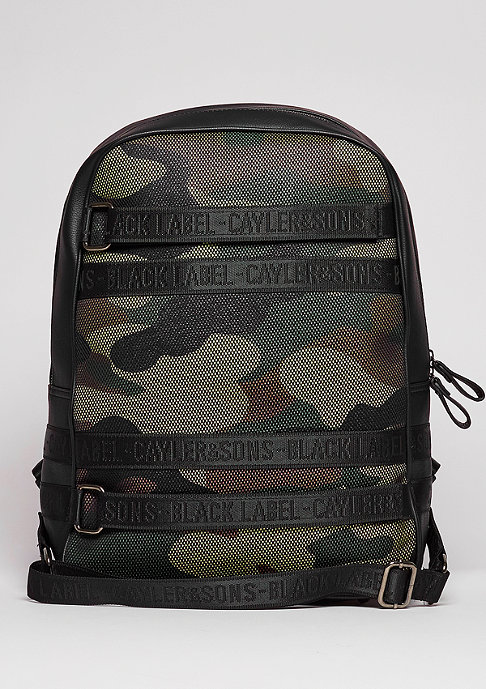 Cayler & Sons C&S BL Backpack Judgement Day black/woodland/olive