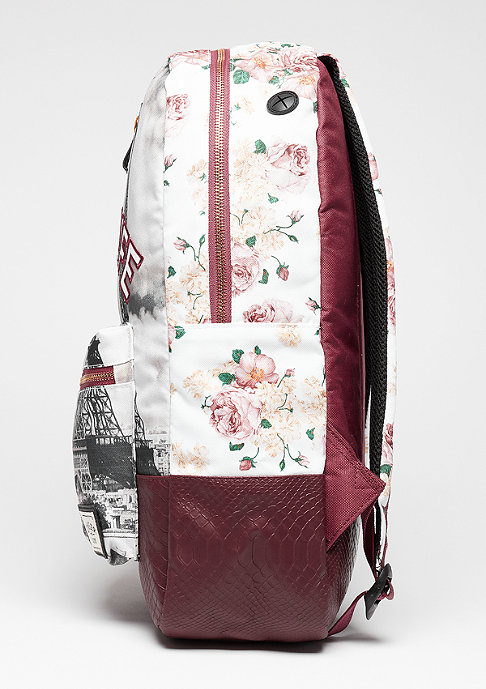 Cayler & Sons C&S WL Backpack Paris Life Uptown maroon/mc