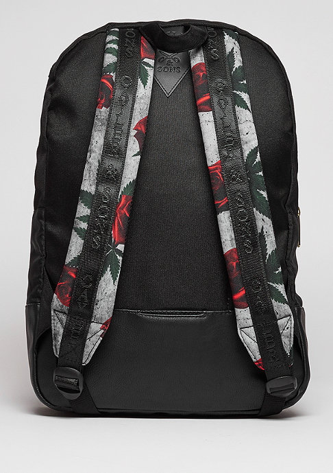 Cayler & Sons Rucksack GL Amsterdam Uptown black/red/mc