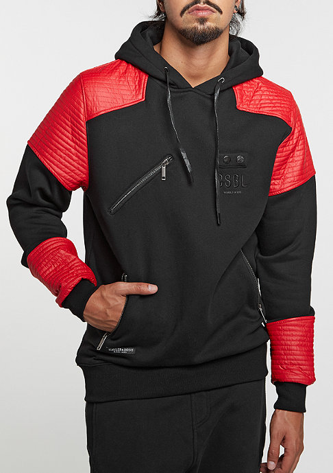 Cayler & Sons Hooded-Sweatshirt BL Moto black/red