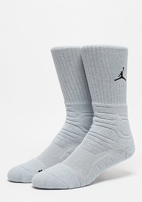 JORDAN Ultimate Flight Crew Sock wolf grey/black