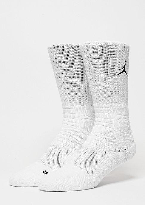 JORDAN Ultimate Flight Crew Sock white/black