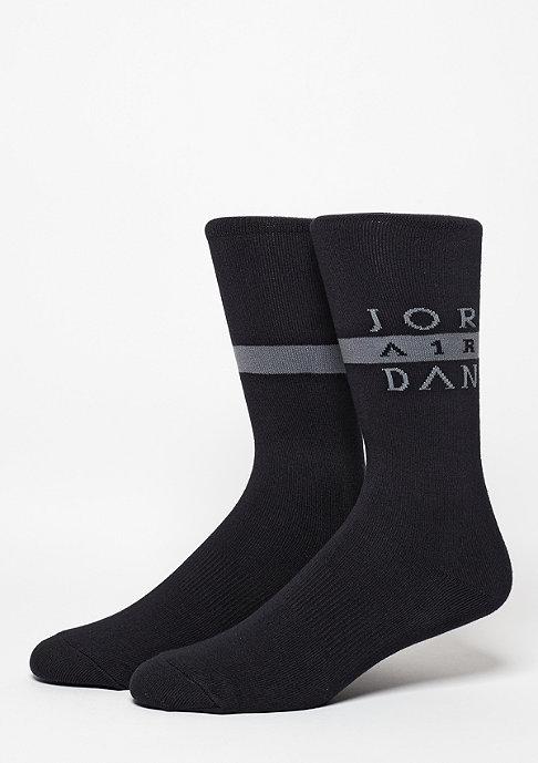 JORDAN Seasonal Print Crew black/cool grey