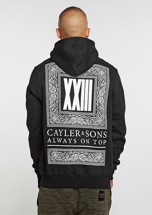 Cayler & Sons C&S BL Hoody Bumrush black/white