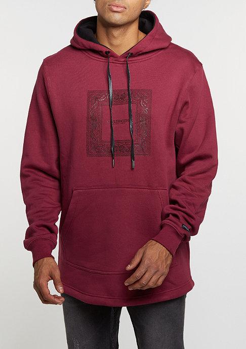Cayler & Sons Hooded-Sweatshirt BL Hoody Paiz Curved wine/black