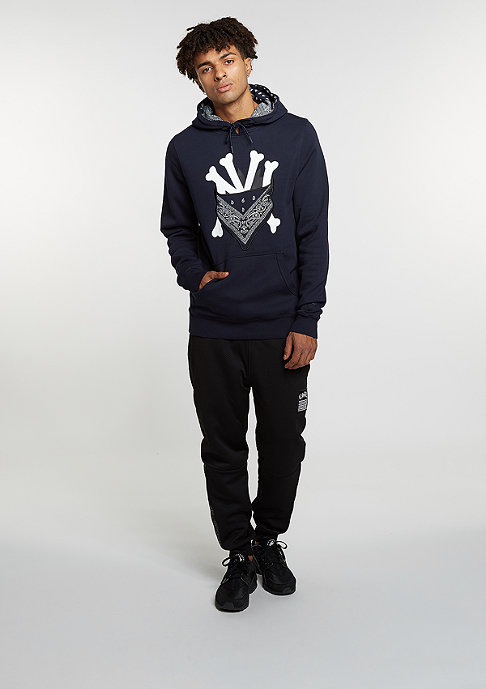 Cayler & Sons C&S WL Hoody Grime navy/white