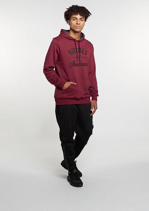 Cayler & Sons C&S GL Hoody B&M maroon/black