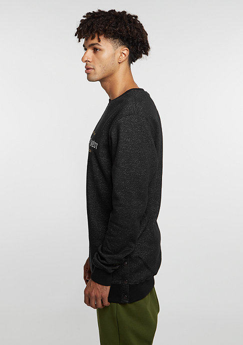 Cayler & Sons Sweatshirt GL Crew A Dam´s Finest black melange/gold/white