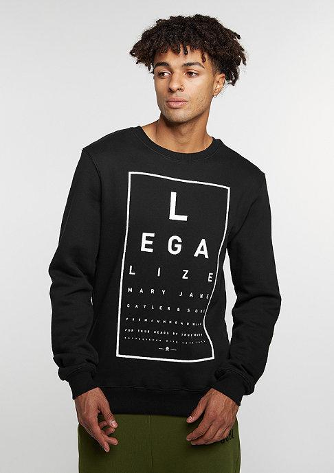 Cayler & Sons C&S GL Crew Legaleyez black/white