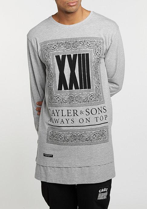 Cayler & Sons Longsleeve BL Bumrush grey heather/black