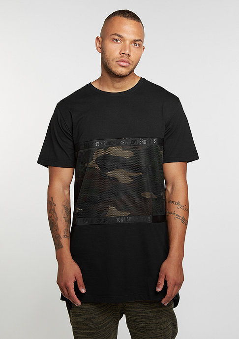 Cayler & Sons T-Shirt BL Judgement Day Long black/woodland