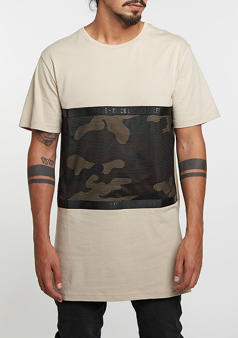 Cayler & Sons T-Shirt BL Judgement Day Long sand/woodland/black