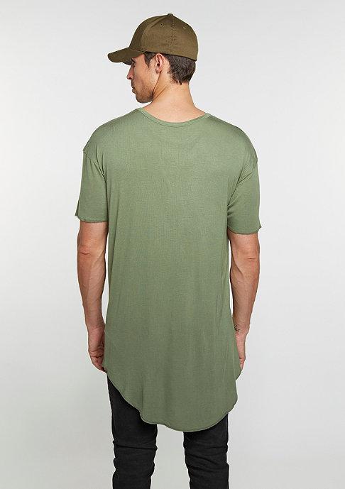 Cayler & Sons T-Shirt BL Drop Scallop olive/black