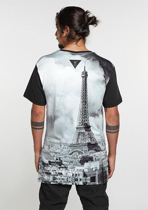Cayler & Sons T-Shirt WL Paris Skyline Long black/white/grey