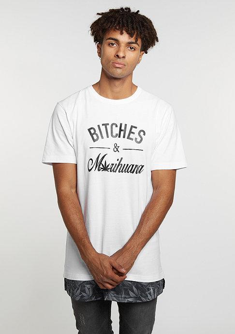 Cayler & Sons T-Shirt GL B&M Long white/black
