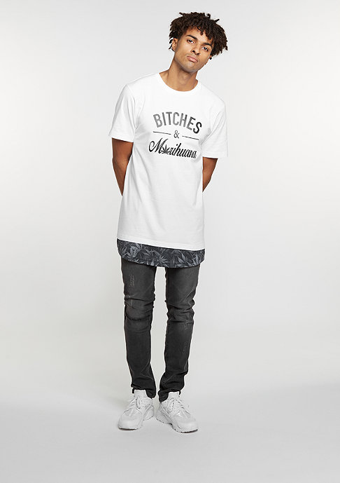 Cayler & Sons C&S GL Tee B&M Long white/black
