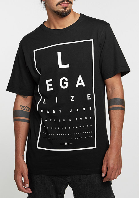 Cayler & Sons C&S GL Tee Legaleyez black/white