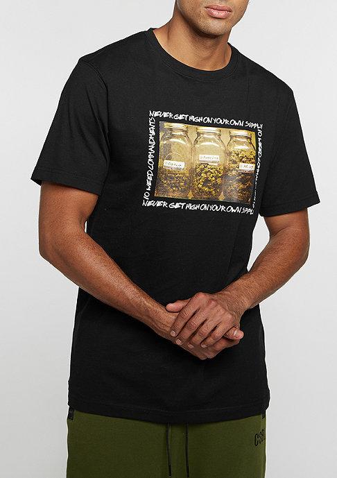 Cayler & Sons T-Shirt GL Own Supply black/white/mc