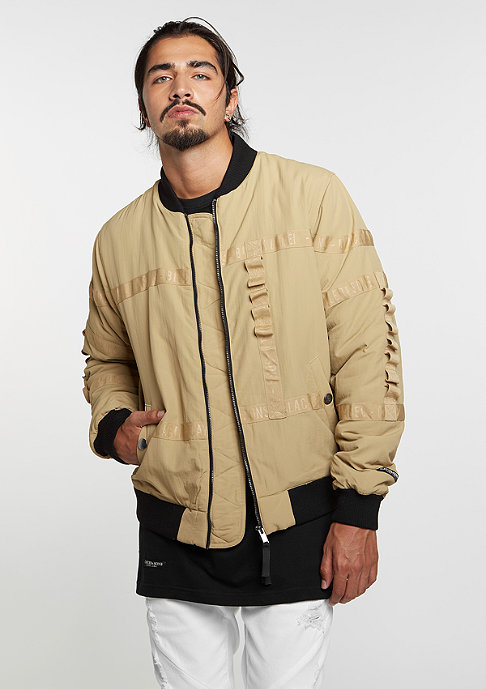 Cayler & Sons C&S Bomber BL Judgement Day sand/black