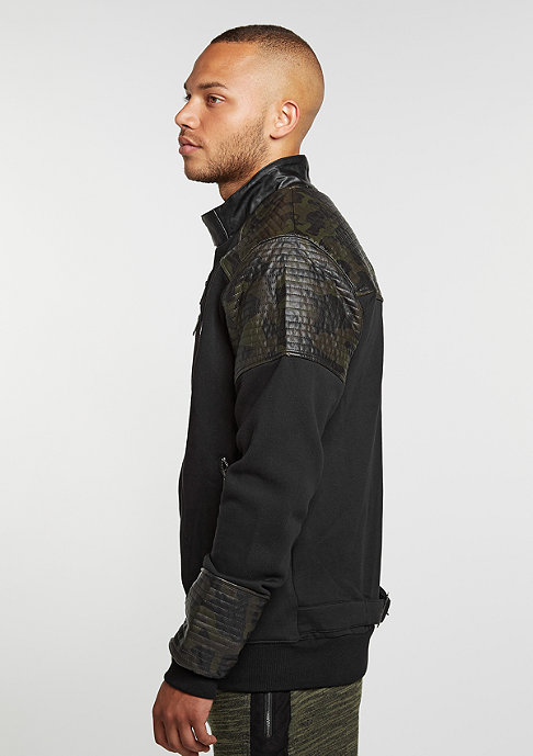 Cayler & Sons C&S Jacket BL Moto Crew black/woodland